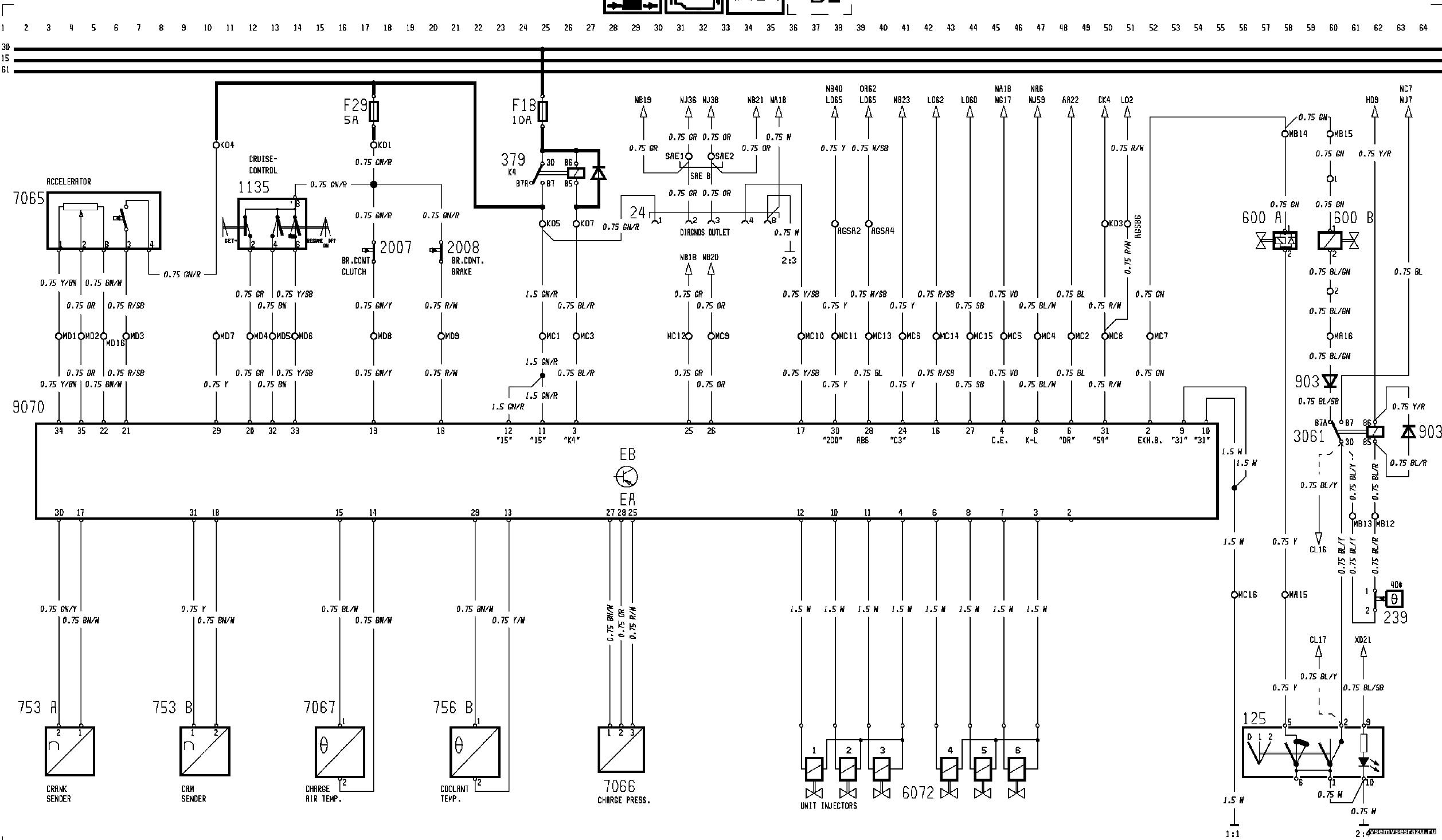 вольво fh12 2003 схема работы вентилятора печки